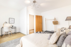 Schlafzimmer nach Home Staging