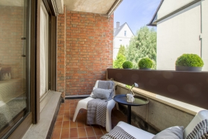 Balkon nach Home Staging