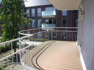 Balkon - vorher