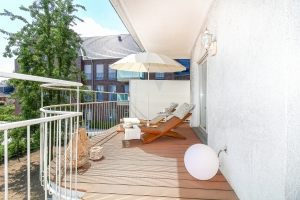 Balkon - nach Home Staging